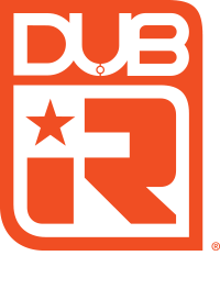 DUB iR Logo - Window Film Distributed by Service Group Distribution